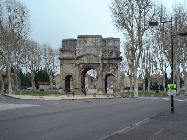 Łuk triumfalny - Orange - Francja - by samuel_belknap