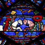 Charlemagne Window: Roland vs. King Marsile
