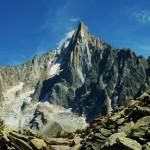 Aiguille verte - Mont Blanc - by thierry llansades
