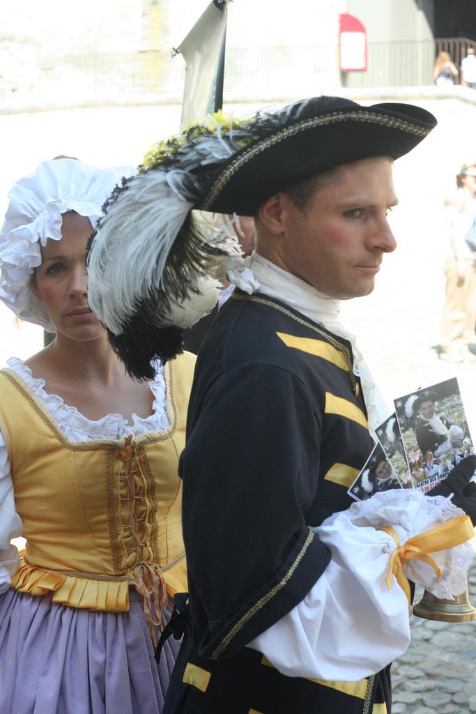Aktorzy podczas festwiwalu w Awinionie by weegolo