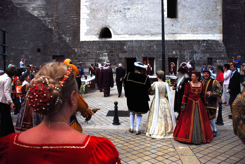 Amboise - Francja - Festiwal wina - by Kentishman