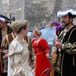 Atrakcje na festiwalu wina w Amboise we Francji by Kentishman