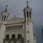 Bazylika Notre Dame w Lyonie - przednia część - by Juan Seguí Moreno