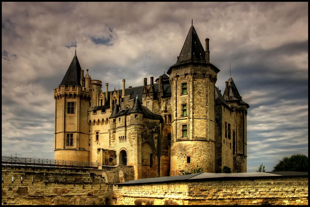 Château de Saumur, Francja - by szeke