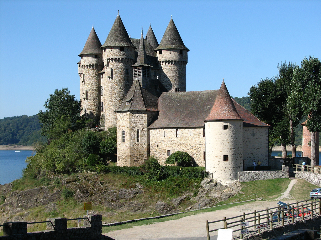Château de Val - Masyw Centralny - by Oncle Tom