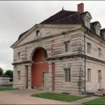 Część kompleksu muzealnego Arc et Senans we Francji by Xavier de Jauréguiberry