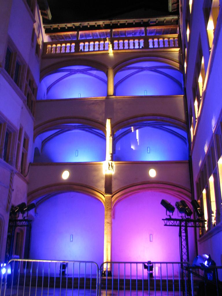 Do jakiego hotelu w Lyonie jechać - do hotelu Gadagne oczywiście - zdjęcie hotelu zrobione przez JaHoVil