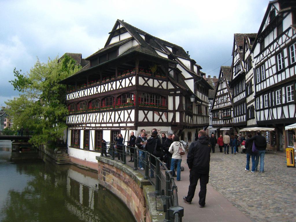 Dzielnica rzemieślnicza Strasburg by hamadryades