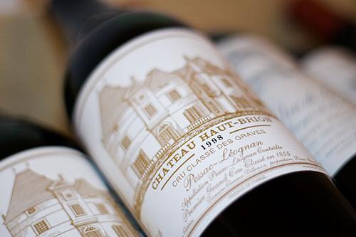 Ekskluzywne wino Haut Brion za 1500zł butelka by waynemah