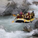 Ekstremalny rafting we Francji na pontonie by MOLEC