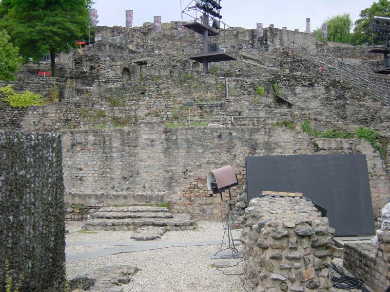 Fragment Romańskiego Muzeum w Lyonie by jimg944