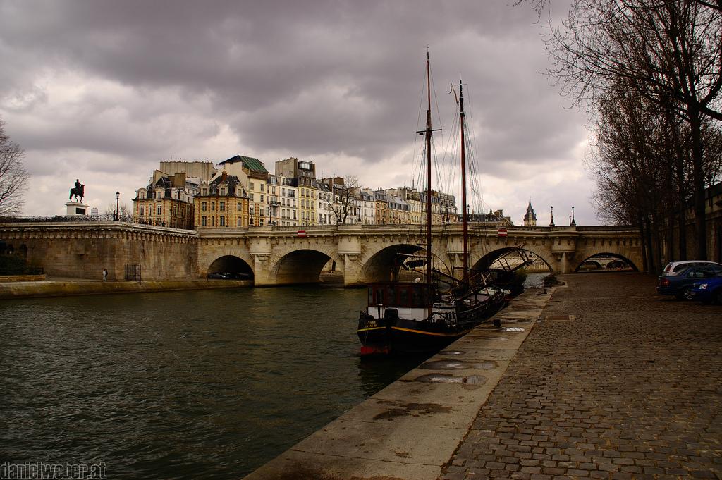 Francja - Sekwana - by daniel-weber