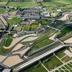 Francuski tor formuły 1 - Magna Cours - z lotu ptaka - by gcorret
