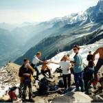 Grupa turystów w drodze na Mont Blanc by twiga269 ॐ FreeTIBET