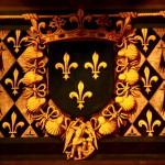 Herb zamku w Bois by saigneurdeguerre