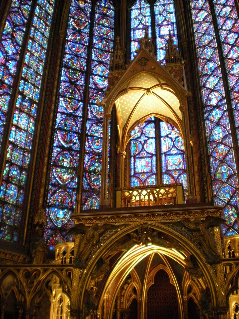 Jeden z ołtarzy w kościele Saint Chapelle by stefano___!