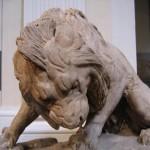 Jedna z rzeźb w muzeum sztuk pięknych (Beaux Arts) w Lyonie - by z_aurelie