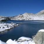 Jezioro w Pirenejach by jntns