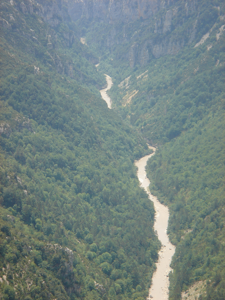 Kanion Verdon we Francji - widoki prawie jak w Amazonii - by stealthtractor