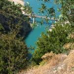 Kanion Verdon, widok z jednego ze zbocz - by matteopenzo