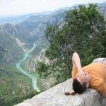 Kanion Verdon - widok z mostu - by La Brionnaise