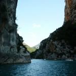 Kanion Verdon - zdjęcie z kajaka - by cruz_fr