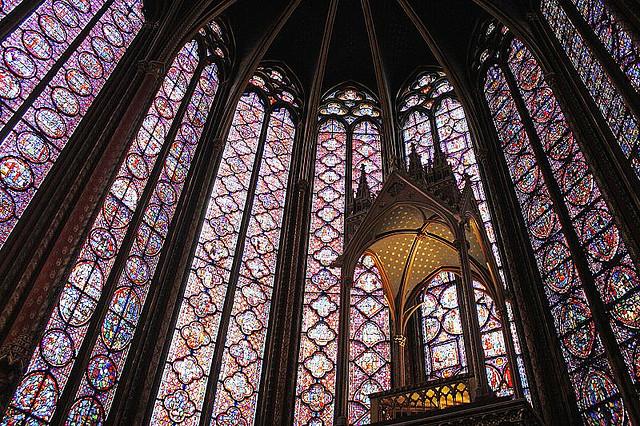 Kaplica Saint Chapelle - by Dimitry B