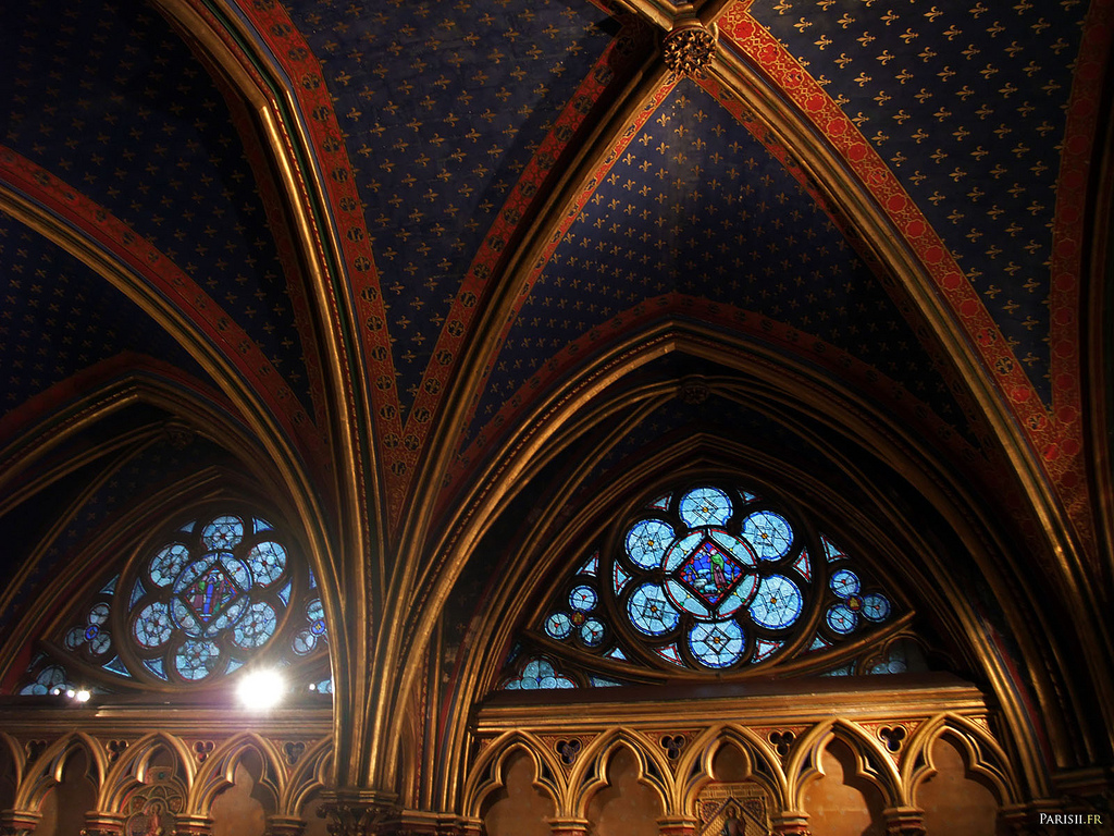 Kaplica Saint Chapelle - by joriavlis