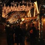 Klimat świątecznych jarmarków we Francji by mitchoward