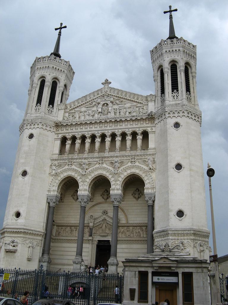 Kościół Notre Dame w Lyonie by JaHoVil