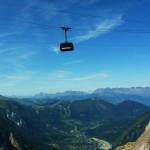 Kolejka linowa Mont Blanc - by thierry llansades
