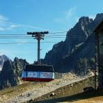 Kolejka linowa na Mont Blanc - Mer de Glace - by thierry llansades