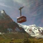 Kolejka na Mont Blanc  by thierry llansades