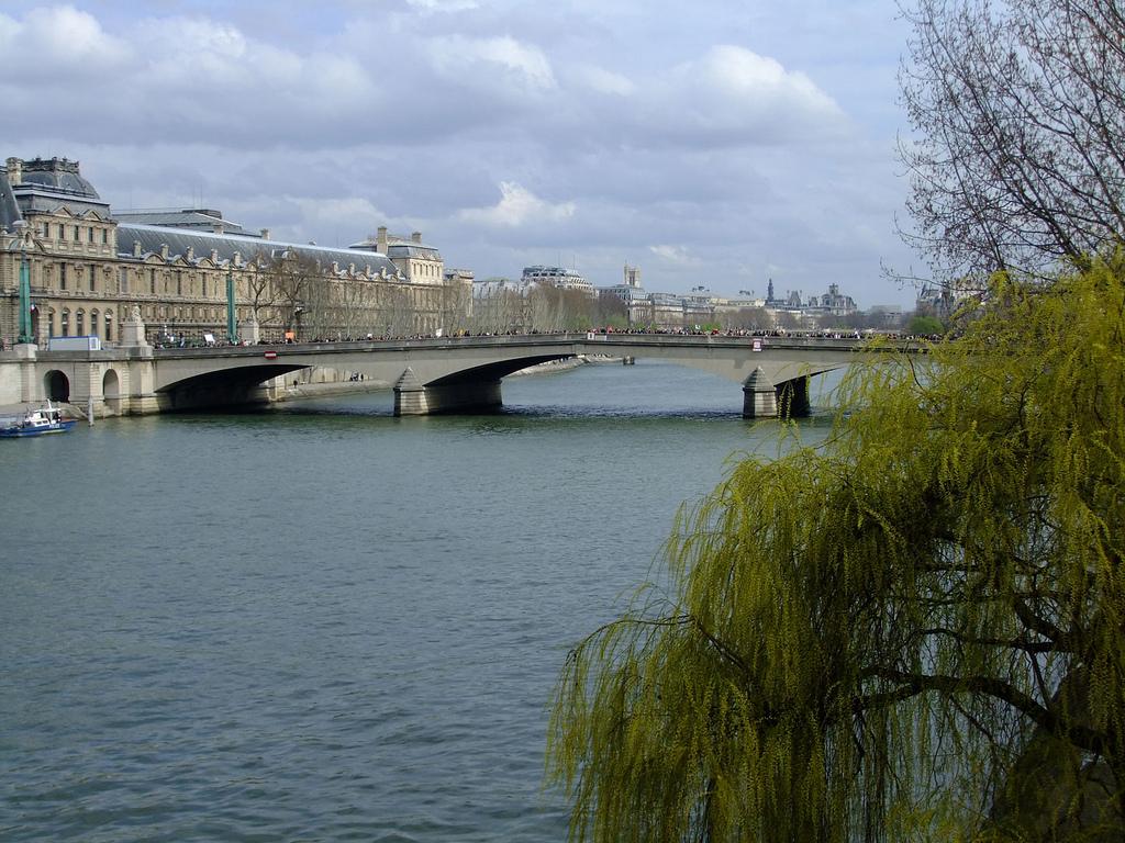 Kolejny most na Sekwanie by kurtmunz