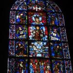 Kolejny przepiękny witraż w Chartres by ho visto nina volare