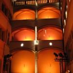 Kolejny rodzaj oświetlenia hotelu Gadagne w Lyonie by JaHoVil