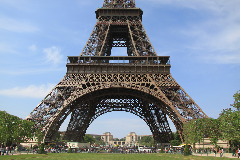 Konstrukcja Wieży Eiffla by bortescristian