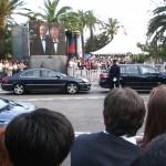 Limuzyny i obstawa gwiazd w Cannes  by ecololo