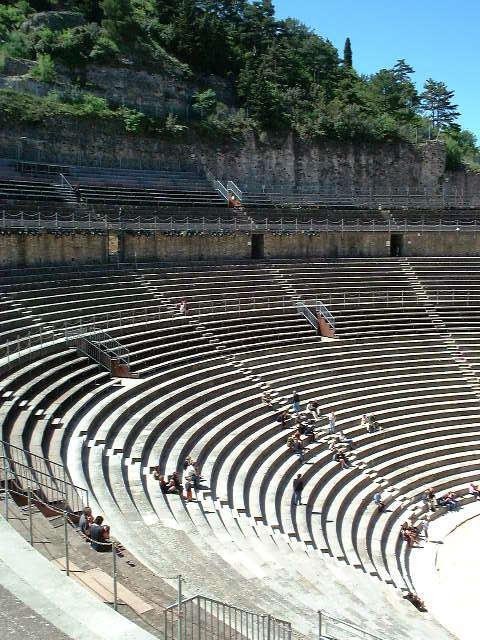 Miejsca dla widowni - Teatr w Orange - by samuel_belknap