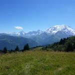 Les Fiz depuis le Mont-d'Arbois