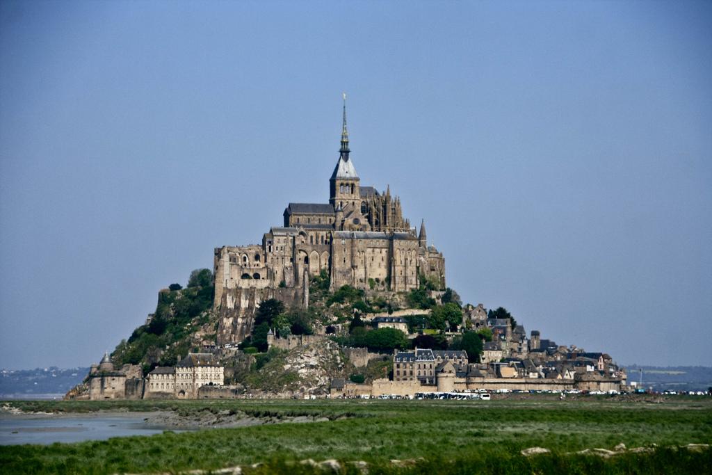 Mont Saint Michel - Normandia - Północna Francja - by saigneurdeguerre
