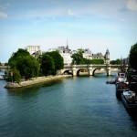 Most Pont Neuf - Serkwana - Paryż - by Judy