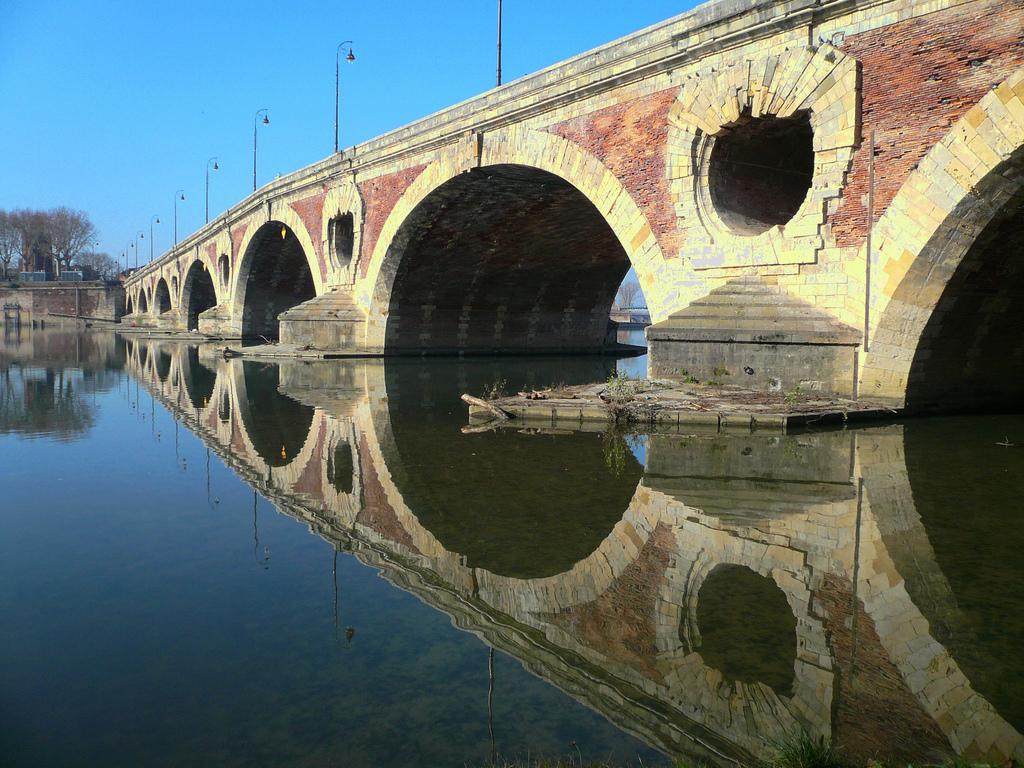 Most Pont Neuf na Sekwanie by Nirgal Ksi