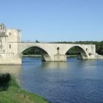 Most na Rodanie - Awinion - Francja by jas_gd