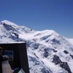 Na szczycie Mont Blanc by Mat Strange