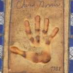 Odcisk dłoni Chucka Norrisa