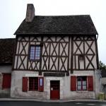 Oryginalny cafe-bar na francuskiej wsi by skol-louarn