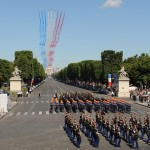Leaders attend 2008 annual military parade - Paris