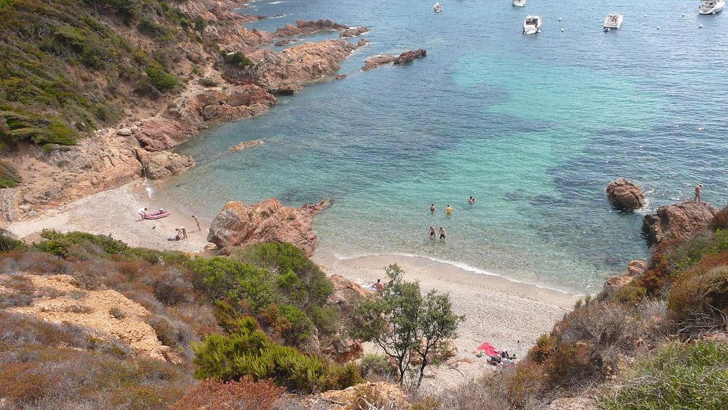 Plaża - Zatoka Girolata - Korsyka - Rezerwat Scandola - by daghinho