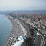 Plaża na południu Francji by Laura Longenecker